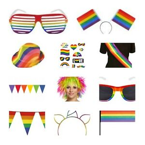 ***PRIDE**Rainbow Accessories**Party**Fun**FAVOURS***