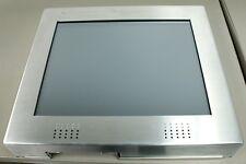 "17"" Slabb RS-232 DB9 Aluminum Touchscreen Video Display Kiosk VGA w/ Speakers"