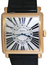 Franck Muller Master Square 18k Rose Gold Mens 42mm Watch Box/Papers 6000 K SC