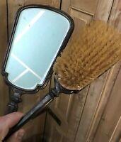 Argent Massif Brosse Argenterie Ancien Sterling Silver Miroir