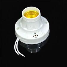 Sound Control Sensor E27 Light Base Holder for Energy-saving Bulb LED Lamp New