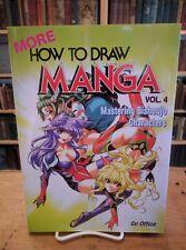 How to draw Manga Mastering Bishoujo Characters Graphic-Sha 1st Print M/UNREAD