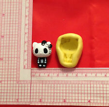 Hello Kitty Gothic Silicone Push Mold A830 Candy Chocolate Fondant Soap