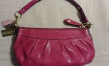 Coach Madison Pink Pleated Leather Small Shoulder Hobo Bag 12944