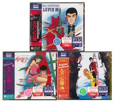 LUPIN THE 3RD ORIGINAL SOUNDTRACK-LOT OF 3 CD-JAPAN BLUE-SPEC CD2 SET 210