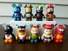 Disney Vinylmation - Lot Of 9 Vinylmation Figures - Animation / Muppets Series