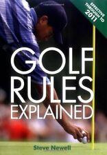 Golf Rules Explained,Steve Newell