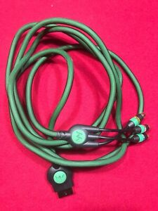Original Xbox Green Monster Component Cable - 10' - WORKS