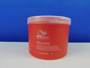 Wella Professionals Brilliance Haarmaske für Coloriertes Haar 500 ml (20x25ml)