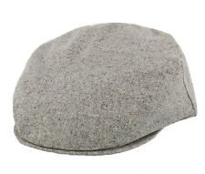 Failsworth 100% Silk Flat Cap Light Grey
