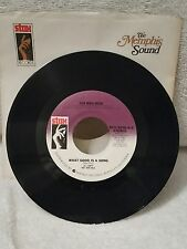 "Sir Mac Rice - Stax 3208 ""WHAT GOOD IS A SONG"" (GREAT SOUL) PROMO 45"