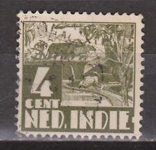 Nederlands Indie 250 used Karbouw 1938 Netherlands Indies watermark