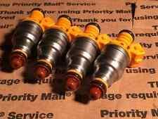 2.5L 91-95 jeep Cherokee Wrangler Upgrade BOSCH Fuel Injector Set 4 Nozzle 19lb
