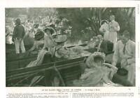 Publicité ancienne saison de Londres le canotage à Henley 1908 issue de magazine