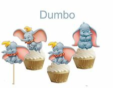 Dumbo cakepop/cupcake toppers (24 pcs)