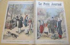 Le petit journal 1895 253 soupe du soldat + canicule à Paris