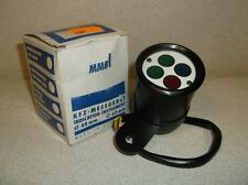 MMB 'Micro Mini' 48mm White Face Indicator Light Unit for Motorcycles - $90 NEW