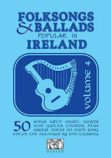 Irish Folksongs Ballads Ireland Celtic Tunes Guitar Piano Keyboard Music Book 4