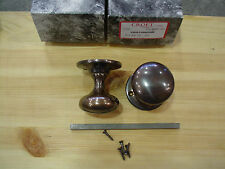 Croft Cushion Mortice Knobs in IBMA Finish