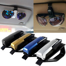 Sun Visor Sunglasses Eye Glasses Card Pen Holder Clip Car Vehicle Accessory XJ