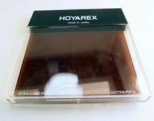 "Hoya Hoyarex 031 Sepia Tobacco square Lens Filter 75X75mm 3X3"""