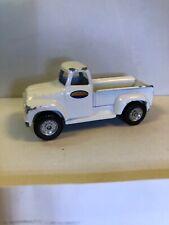 Rare Hasbro Maisto 1:64 White 1950s Ford Pickup Truck Tonka Toys Emblem 1998