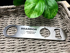 """Personalised Engraved """"Bar Boss"""" Maxi 3-in-1 Bottle Opener - Wedding Favours"""
