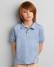 Boys' Button Down Short Sleeve Sleeve Casual T-Shirts, Tops & Shirts (2-16 Years)