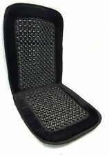 Unique Imports Royal Premium Bamboo Wooden Beaded Seat Cover Massage Cool...