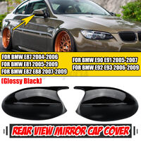 For BMW E90 E91 E92 E93 PRE-LCI Gloss M3 Style Side Rearview Mirror Cover Cap