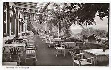 Germany Postcard - Waldhotel - Jagdschloss - Niederwald - Terrasse   E664