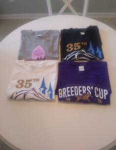 35th Breeders Cup Churchill Downs Nov 2 & 3 2018 T-Shirts 4 To Choose From NEW!