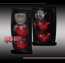89-95 TOYOTA PICKUP HILUX TRUCK TAIL BRAKE LIGHT LAMP BLACK/SMOKE 90 91 92 93 94