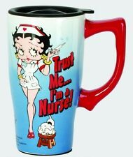 Betty Boop Ceramic Travel Mug: Nurse Betty