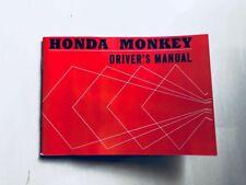VINTAGE HONDA Cz100 Owner Manual Booklet Monkey Bike Mini Bike Z50 Z50a Z50m