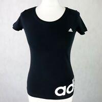 Womens ADIDAS Sport Essentials Tee T-Shirt Size XS UK 4-6 Gym Sports Workout top