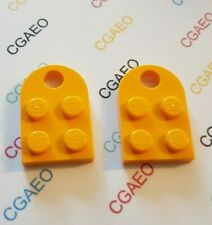 10 x pezzo LEGO 3x2 FLAT STRISCIA parte Nero Gratis UK Più Economici Su