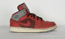 NIKE AIR JORDON Flight Hi Tops Trainers UK 6 Red (5DA)