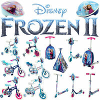 Disney Frozen 1 & 2 Official Toys - Scooters Bikes Helmets Scooting Cases& more!