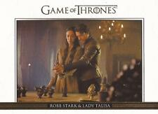Game of Thrones Season 3 - DL8 GOLD Parallel Relationships Chase Card #136/300