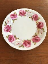 "Vintage Queen Anne ""Princess Roses""  Side Plate Replacement"