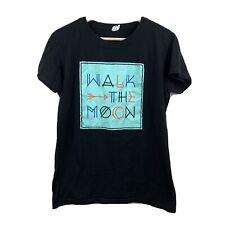 Walk The Moon Band Shirt Concert Music T-Shirt Women's Size XXL 2XL Black A2