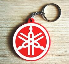 Goma rojo Suzuki S PVC Keyring llavero