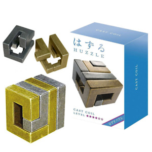 Hanayama Level 4 Cast Coil Puzzle NEW