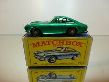 LESNEY 75  FERRARI BERLINETTA - GREEN 1:60? - EXCELLENT CONDITION - IN BOX