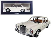 1968 Mercedes 280 SE Ivory 1/18 Diecast Model Car by Norev