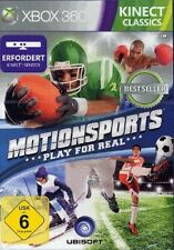 Microsoft Xbox 360 - MotionSports: Play for Real benötigt Kinect DE nur CD