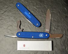 Victorinox Electrician Pioneer blue, blau Alox, selten, new run, pocket knife