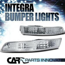 Acura 94-97 Integra JDM Bumper Lights Turn Signal Park Lamp Clear