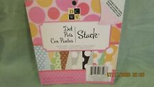 """DCWV Dot Stack, 6"""" x 6"""" Cardstock, double-sided, 36 sheets"""